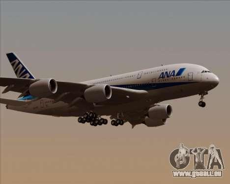 Airbus A380-800 All Nippon Airways (ANA) für GTA San Andreas rechten Ansicht