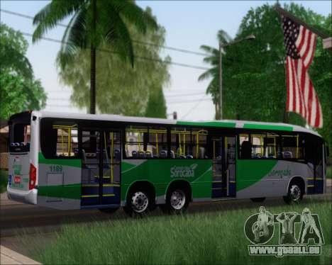 Comil Svelto BRT Scania K310IB 6x2 Sorocaba für GTA San Andreas rechten Ansicht