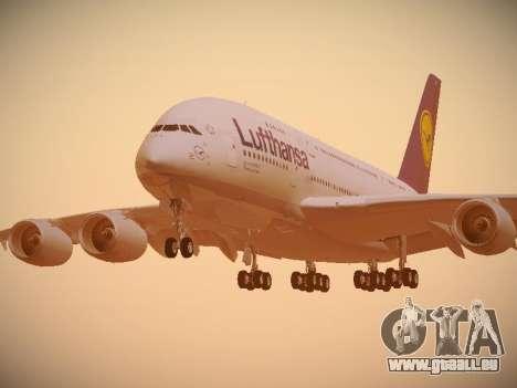 Airbus A380-800 Lufthansa pour GTA San Andreas