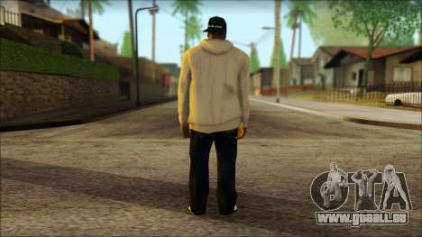 Afro - Seville Playaz Settlement Skin v5 für GTA San Andreas zweiten Screenshot