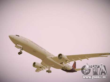 Airbus A330-300 Brussels Airlines pour GTA San Andreas moteur