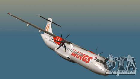 Indonesian Plane Wings Air pour GTA San Andreas