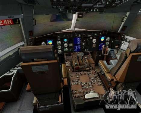Boeing 767-300ER F TAM Cargo für GTA San Andreas Innen