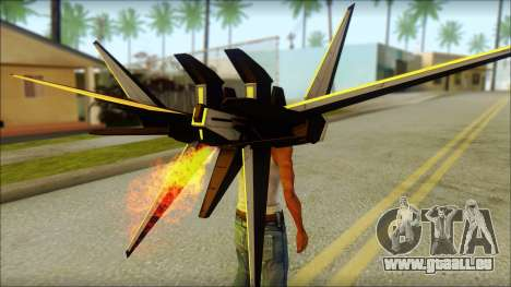 Machine Wing Jetpack für GTA San Andreas dritten Screenshot
