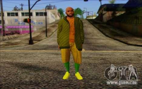Grove Street Dealer from GTA 5 pour GTA San Andreas