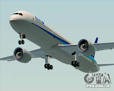 Boeing 787-9 All Nippon Airways pour GTA San Andreas vue intérieure