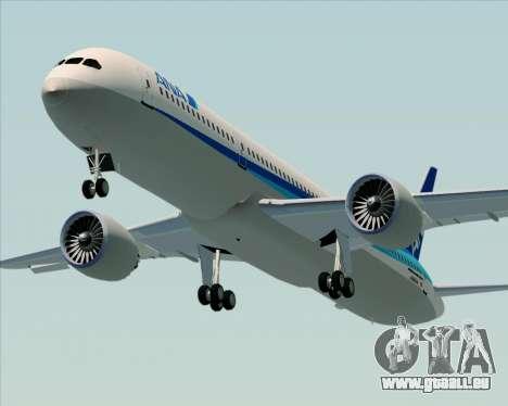 Boeing 787-9 All Nippon Airways für GTA San Andreas Innenansicht