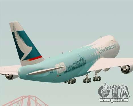 Boeing 747-8 Cargo Cathay Pacific Cargo für GTA San Andreas Seitenansicht
