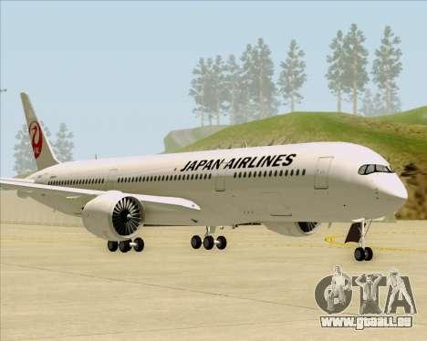 Airbus A350-941 Japan Airlines für GTA San Andreas linke Ansicht