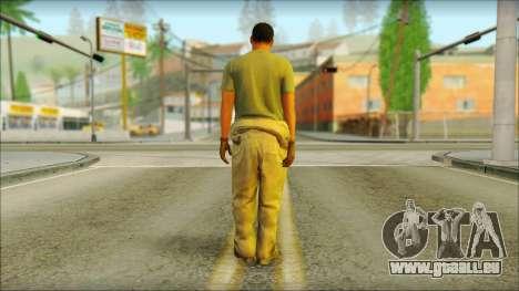 GTA 5 Soldier v3 für GTA San Andreas zweiten Screenshot