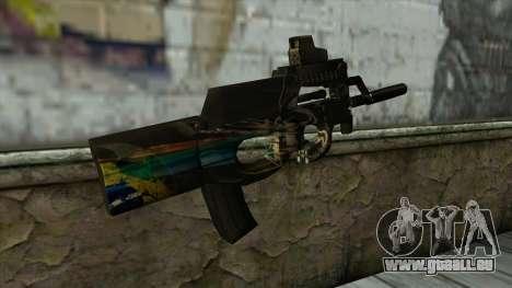 P90 from PointBlank v2 für GTA San Andreas zweiten Screenshot