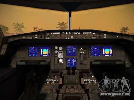 Airbus A340-600 Qatar Airways für GTA San Andreas Räder