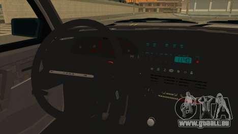 VAZ 2113 eaux de Ruissellement pour GTA San Andreas sur la vue arrière gauche