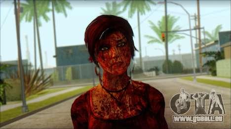Tomb Raider Skin 9 2013 pour GTA San Andreas troisième écran