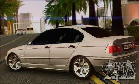 BMW 320i für GTA San Andreas linke Ansicht