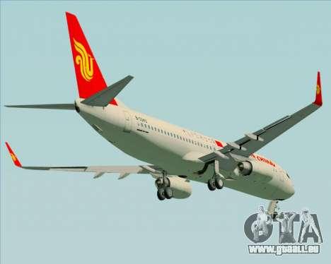 Boeing 737-89L Air China pour GTA San Andreas vue intérieure