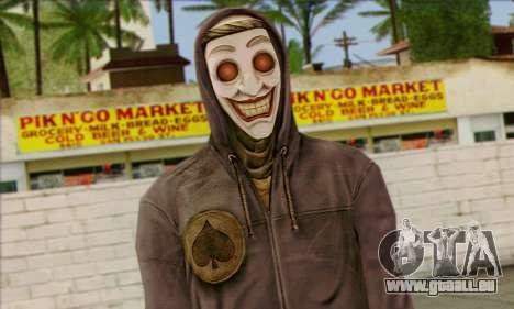 Gangster Le Joker (L'Injustice) pour GTA San Andreas troisième écran
