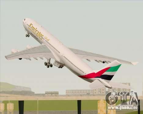 Airbus A340-313 Emirates für GTA San Andreas