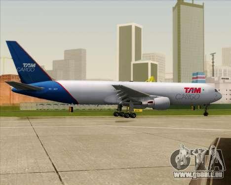 Boeing 767-300ER F TAM Cargo für GTA San Andreas obere Ansicht