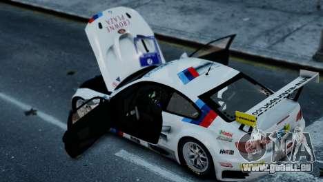 BMW M3 GT2 für GTA 4 hinten links Ansicht