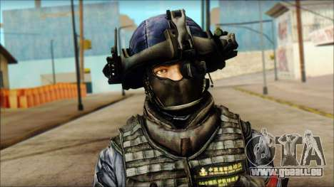 MG from PLA v3 für GTA San Andreas dritten Screenshot