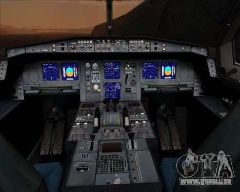 Airbus A330-300P2F UPS Airlines für GTA San Andreas Innen