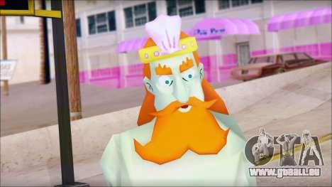 Kingnept from Sponge Bob pour GTA San Andreas troisième écran