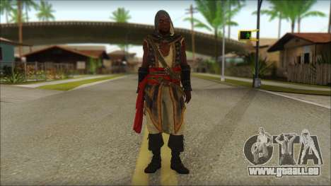 Adewale from Assassins Creed 4: Freedom Cry für GTA San Andreas