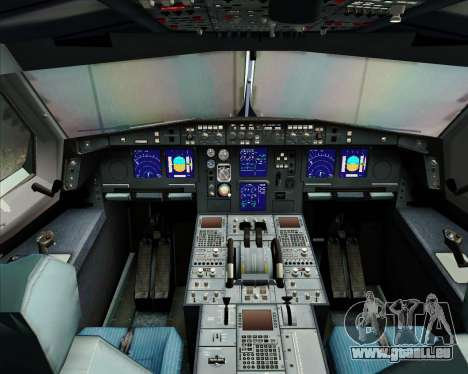 Airbus A340-313 Singapore Airlines pour GTA San Andreas salon