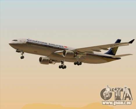 Airbus A330-300 Singapore Airlines für GTA San Andreas Räder