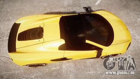 McLaren 650S Spider 2014 [EPM] Michelin v4 pour GTA 4 est un droit