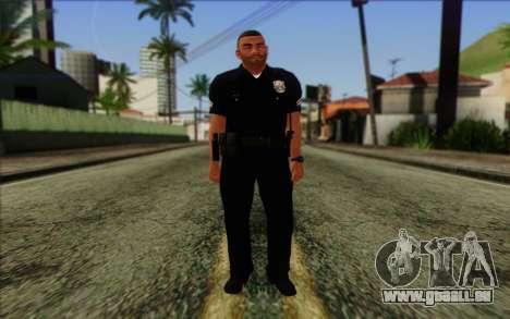 Police (GTA 5) de la Peau 4 pour GTA San Andreas