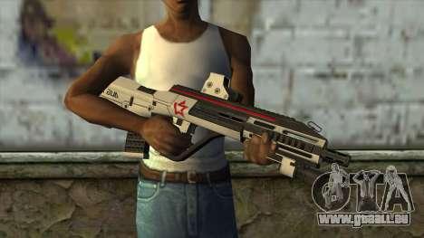 AUG A3 from PointBlank v2 für GTA San Andreas dritten Screenshot