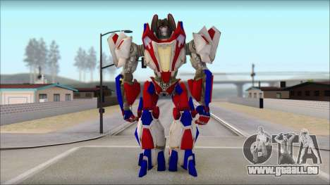 Starscream für GTA San Andreas