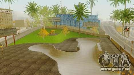 La Texture du skate Park et un hôpital de Los Sa pour GTA San Andreas cinquième écran