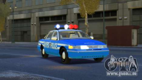 Ford Crown Victoria 1994 NYPD pour GTA 4