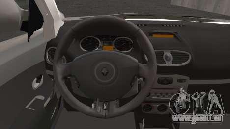 Renault Symbol 2009 für GTA San Andreas zurück linke Ansicht
