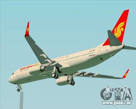 Boeing 737-89L Air China für GTA San Andreas obere Ansicht