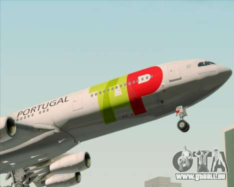 Airbus A340-312 TAP Portugal pour GTA San Andreas roue