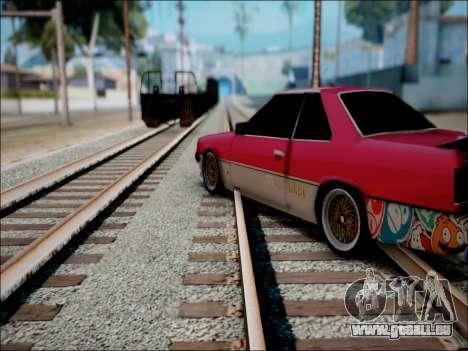 Nissan Skyline GT-R R30 für GTA San Andreas Rückansicht