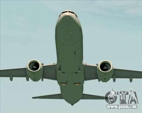 Boeing 737-89L Air China pour GTA San Andreas vue de dessous