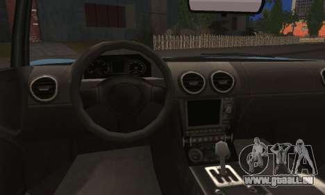 Coil Voltic from GTA 5 pour GTA San Andreas vue de droite
