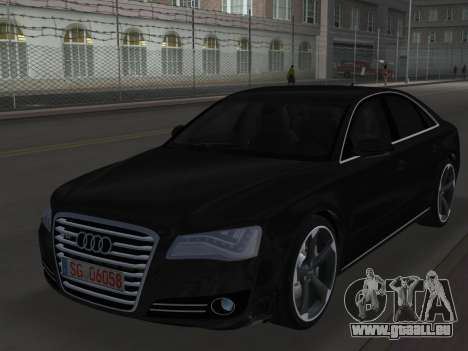 Audi A8 2010 W12 Rim6 für GTA Vice City