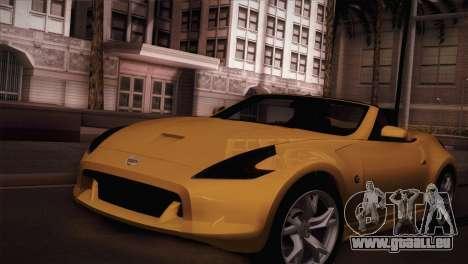 Nissan 370Z Roadster für GTA San Andreas