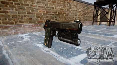 Pistolet Kimber 1911 CE Numériques pour GTA 4