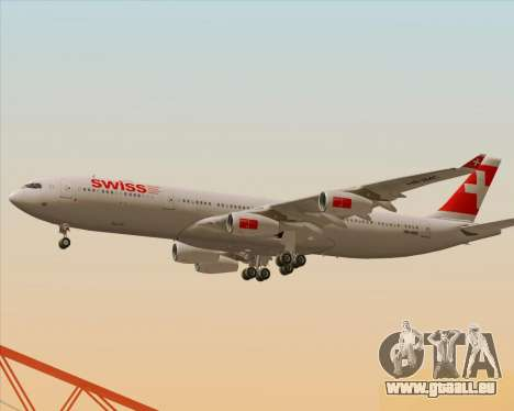 Airbus A340-313 Swiss International Airlines pour GTA San Andreas salon