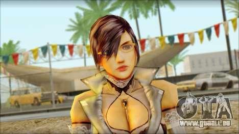 Reiko pour GTA San Andreas troisième écran
