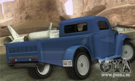 Bravado Duneloader Classic 1.0 (IVF) für GTA San Andreas linke Ansicht