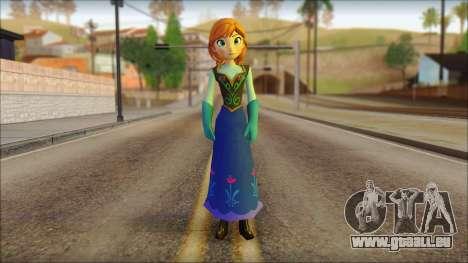 Princess Anna (Frozen) pour GTA San Andreas