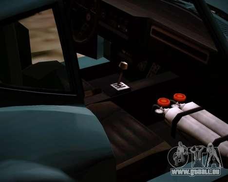 Coquette Classic GTA 5 DLC pour GTA San Andreas vue de droite
